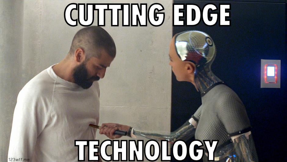 ex machina 28 meme cutting edge (WTF Watch The Film Saint Pauly)
