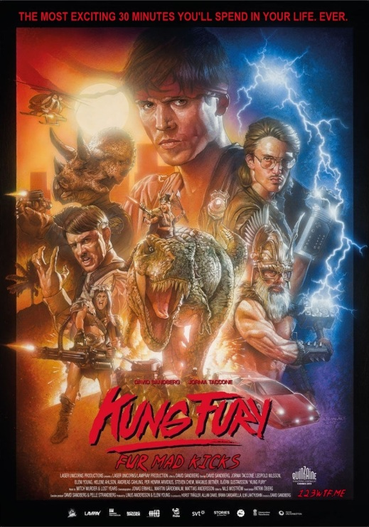 Kung Fury 01 poster (WTF Watch The Film Saint Pauly)
