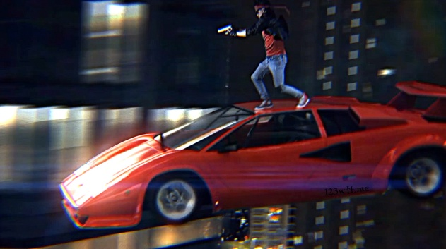 Kung Fury 03 SC Stepping on it(WTF Watch The Film Saint Pauly)