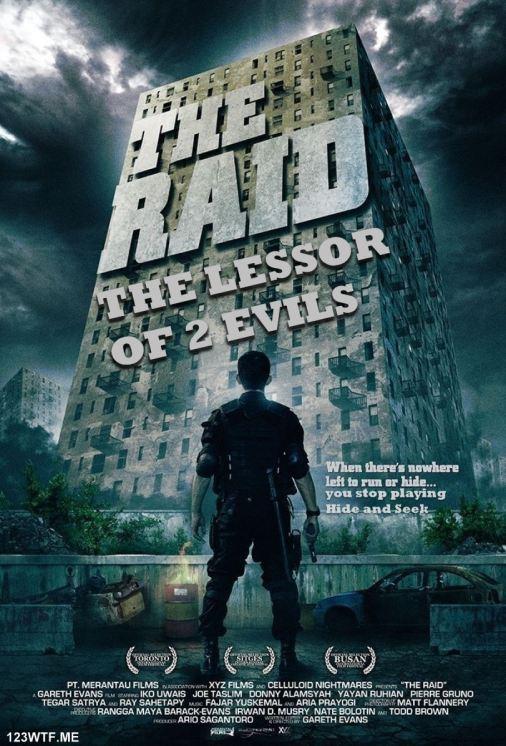 Raid Redemption 01 poster (WTF Saint Pauly)