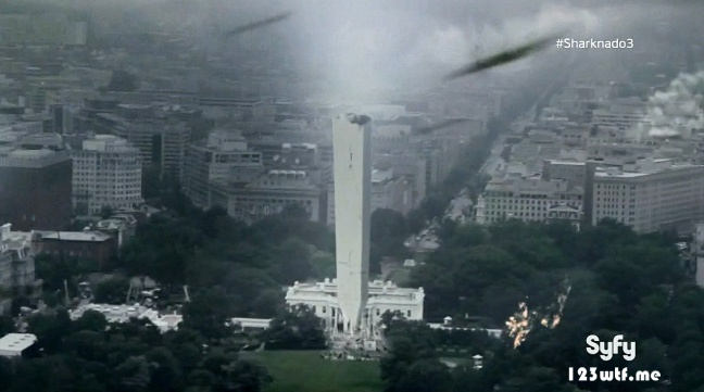 Sharknado 3 07 SC The President finally got the point (WTF Watch The Film Saint Pauly)