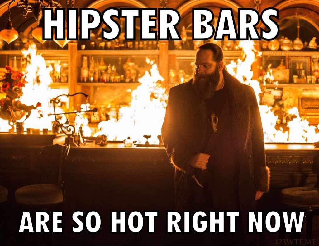 The Last Witch Hunter 42 meme hot hipster bar (WTF Watch The Film Saint Pauly)