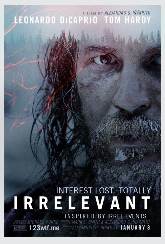 The Revenant 01 poster (WTF Watch The Film Saint Pauly)