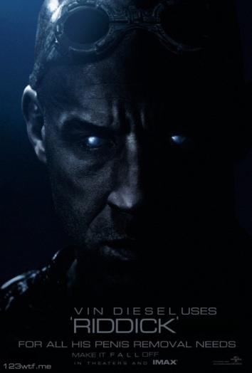 WTF review of Riddick-ulous Diesel film