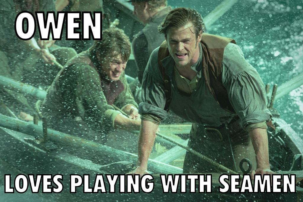 In the Heart of the Sea 50 meme Seamen (WTF Saint Pauly)