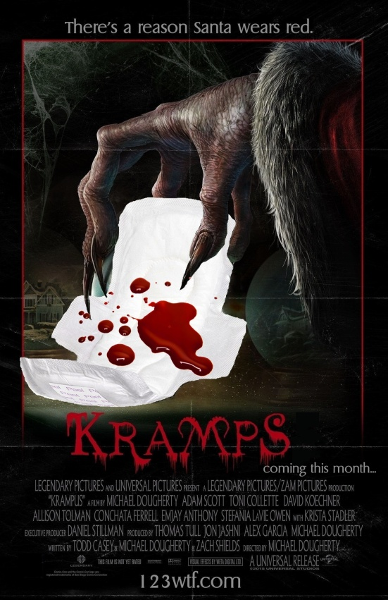 Krampus 01 poster (WTF Watch The Film Saint Pauly)