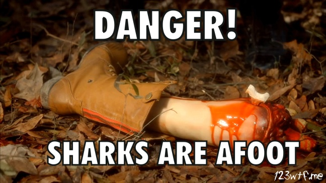 Sharkansas Massacre 31 meme sharks are afoot (WTF Watch The Film Saint Pauly)