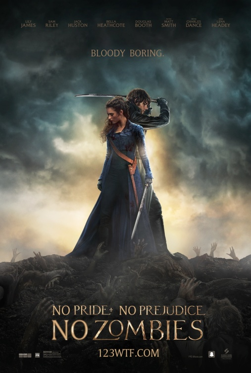 Pride & Prejudice & Zombies 01 poster (WTF Watch The Film Saint Pauly)