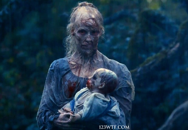 Pride & Prejudice & Zombies 14 SC Breast feed (WTF Watch The Film Saint Pauly)