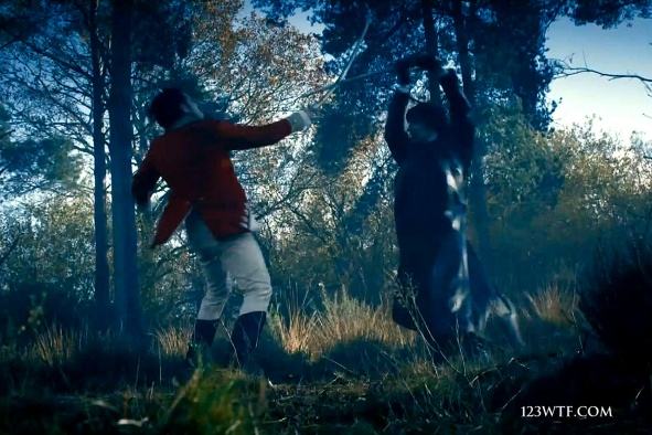 Pride & Prejudice & Zombies 29 SC Fight (WTF Watch The Film Saint Pauly)