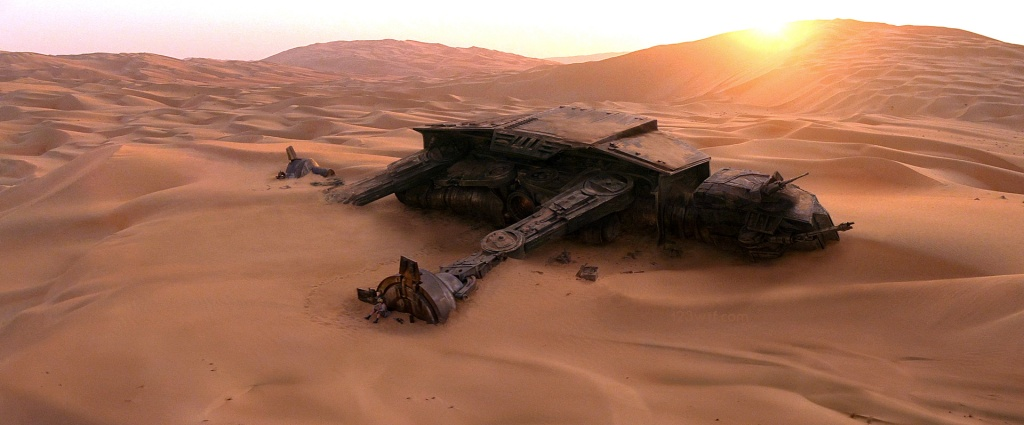 The Force Awakens 13 cinematography AT-AT (WTF Watch The Film Saint Pauly)