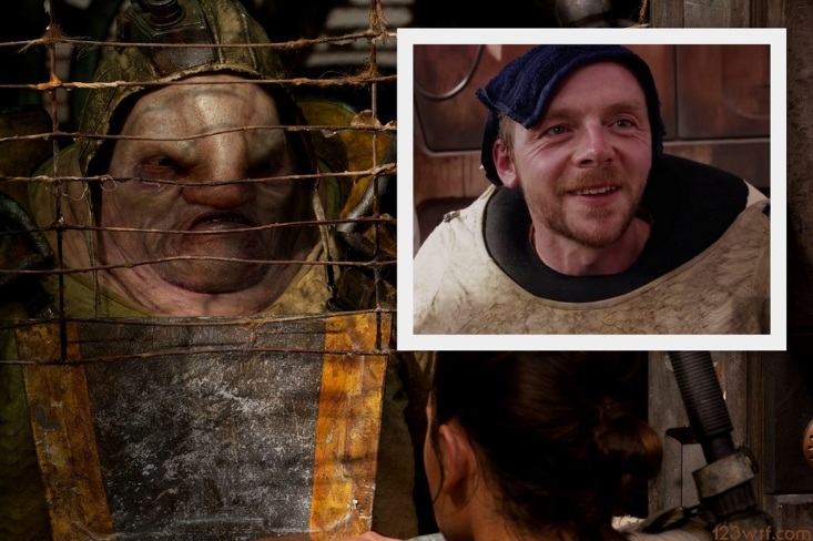 The Force Awakens 14 collage Simon Pegg Unkar Plutt (WTF Watch The Film Saint Pauly)