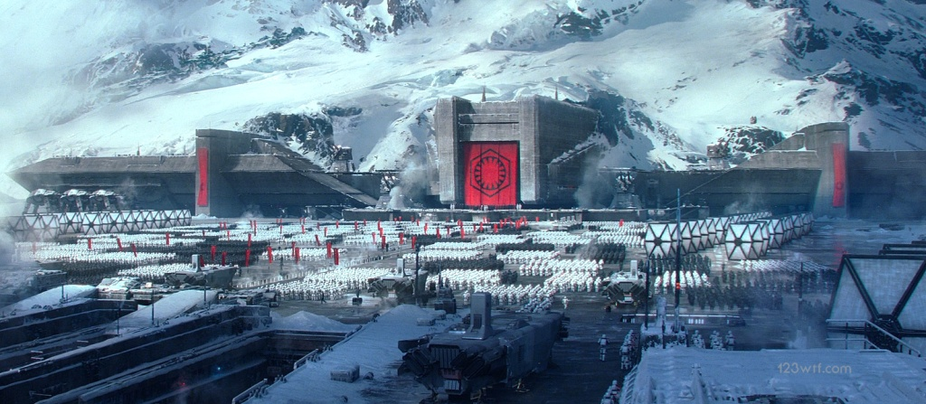 The Force Awakens 36 cinematography Nazi First Order (WTF Watch The Film Saint Pauly)