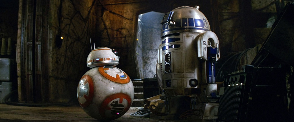 The Force Awakens 42 SC R2D2 BB8 (WTF Watch The Film Saint Pauly)
