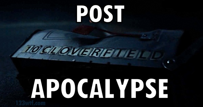 10 Cloverfield Lane 45 meme Post Apcoalypse WTF Watch The Film Saint Pauly