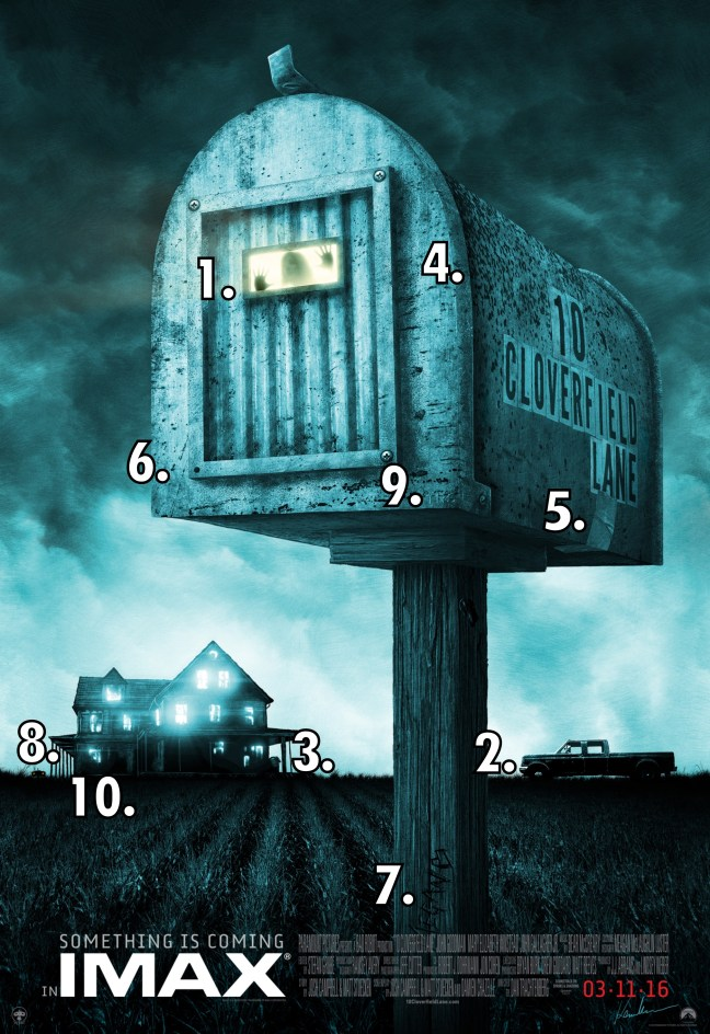 10 Cloverfield Lane 46 Poster Easter eggs WTF Watch The Film Saint Pauly
