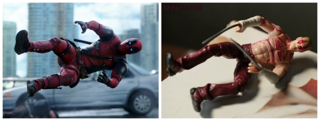 Deadpool 23 Collage Things going sideways (WTF Watch The Film Saint Pauly)
