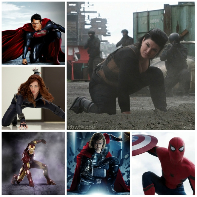 Deadpool 41 Collage Assume the position (WTF Watch The Film Saint Pauly)