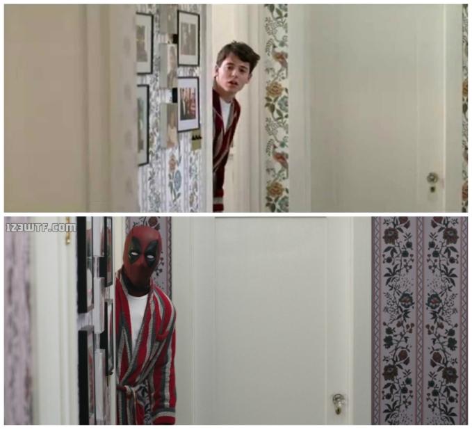 Deadpool 51 collage Ferris Deadpool (WTF Watch The Film Saint Pauly)