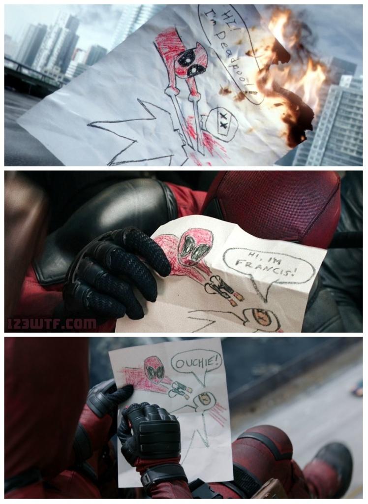 Deadpool 81 collage comics (WTF Watch The Film Saint Pauly)