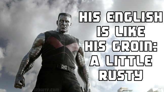 Deadpool 83 meme rusty groin (WTF Watch The Film Saint Pauly)