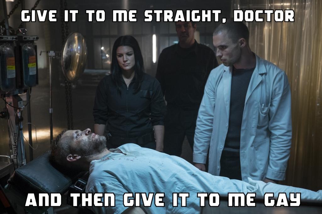 Deadpool 84 meme straight doctor (WTF Watch The Film Saint Pauly)