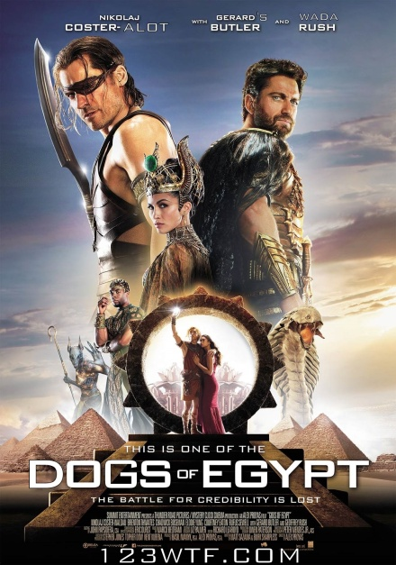 Gods of Egypt 01 poster (WTF Watch The Film Saint Pauly)