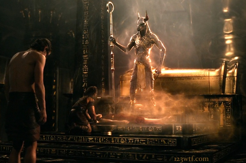 Gods of Egypt 15 SC cinematography Death is a bitch (WTF Watch The Film Saint Pauly)