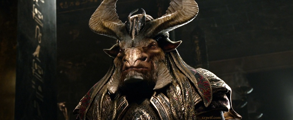 Gods of Egypt 18 SC That's a lot of bull (WTF Watch The Film Saint Pauly)