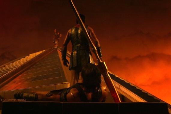 Gods of Egypt 35 SC Set up (WTF Watch The Film Saint Pauly)