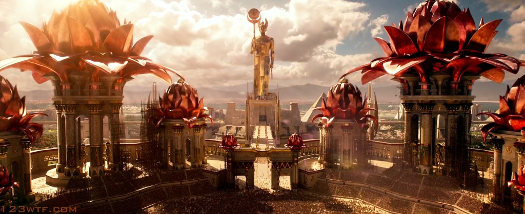 Gods of Egypt 39 SC cinematography Tonight we're gonna party like it's 2599 (BC) (WTF Watch The Film Saint Pauly)