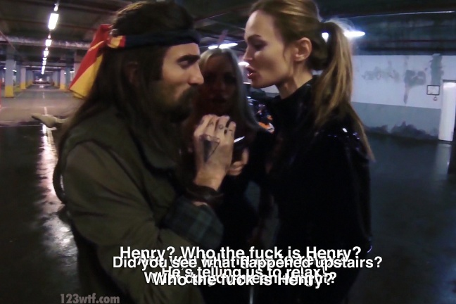 Hardcore Henry 54 Wtfdts Speaking over each other WTF Watch The Film Saint Pauly
