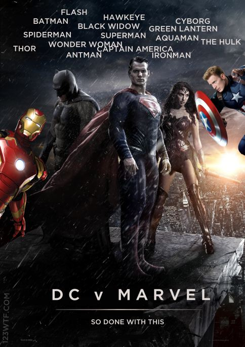 Batman v Superman 01 poster WTF Watch The Film Saint Pauly