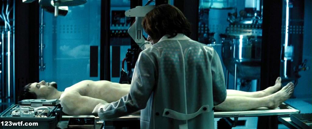Batman v Superman 16 SC 3-piece hazmat suit WTF Watch The Film Saint Pauly