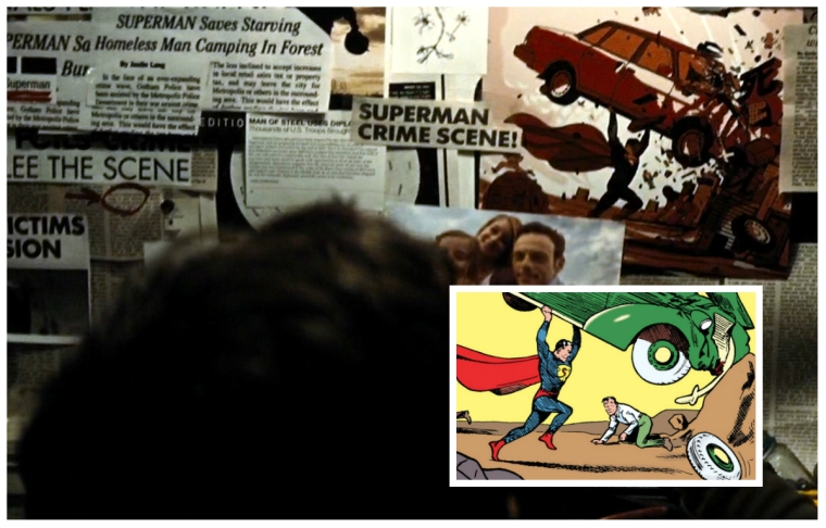 Batman v Superman 98 Easter egg Rigby WTF Watch The Film Saint Pauly