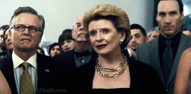 Batman v Superman 99 Easter egg Debbie Stabenow WTF Watch The Film Saint Pauly