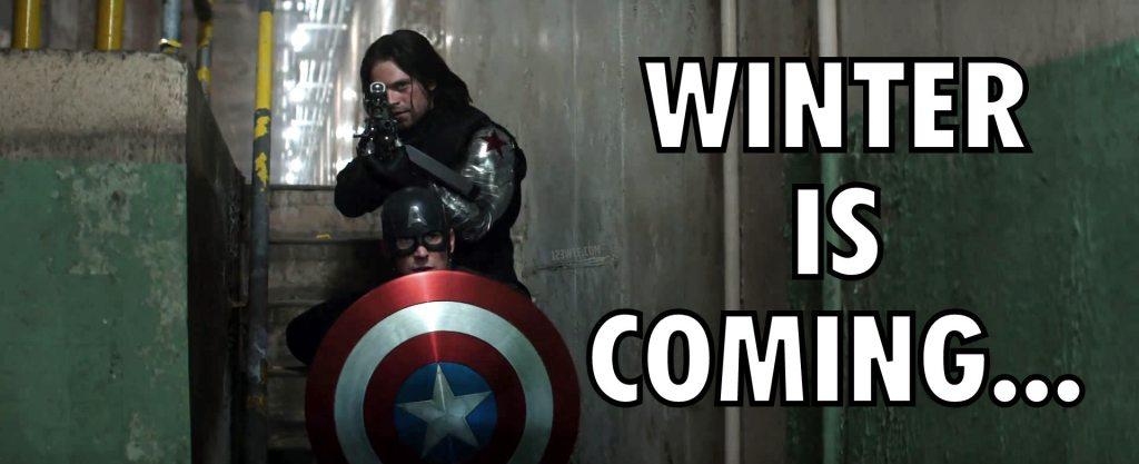 Captain America Civil War 72 meme Winter is coming WTF Watch The Film Saint Pauly