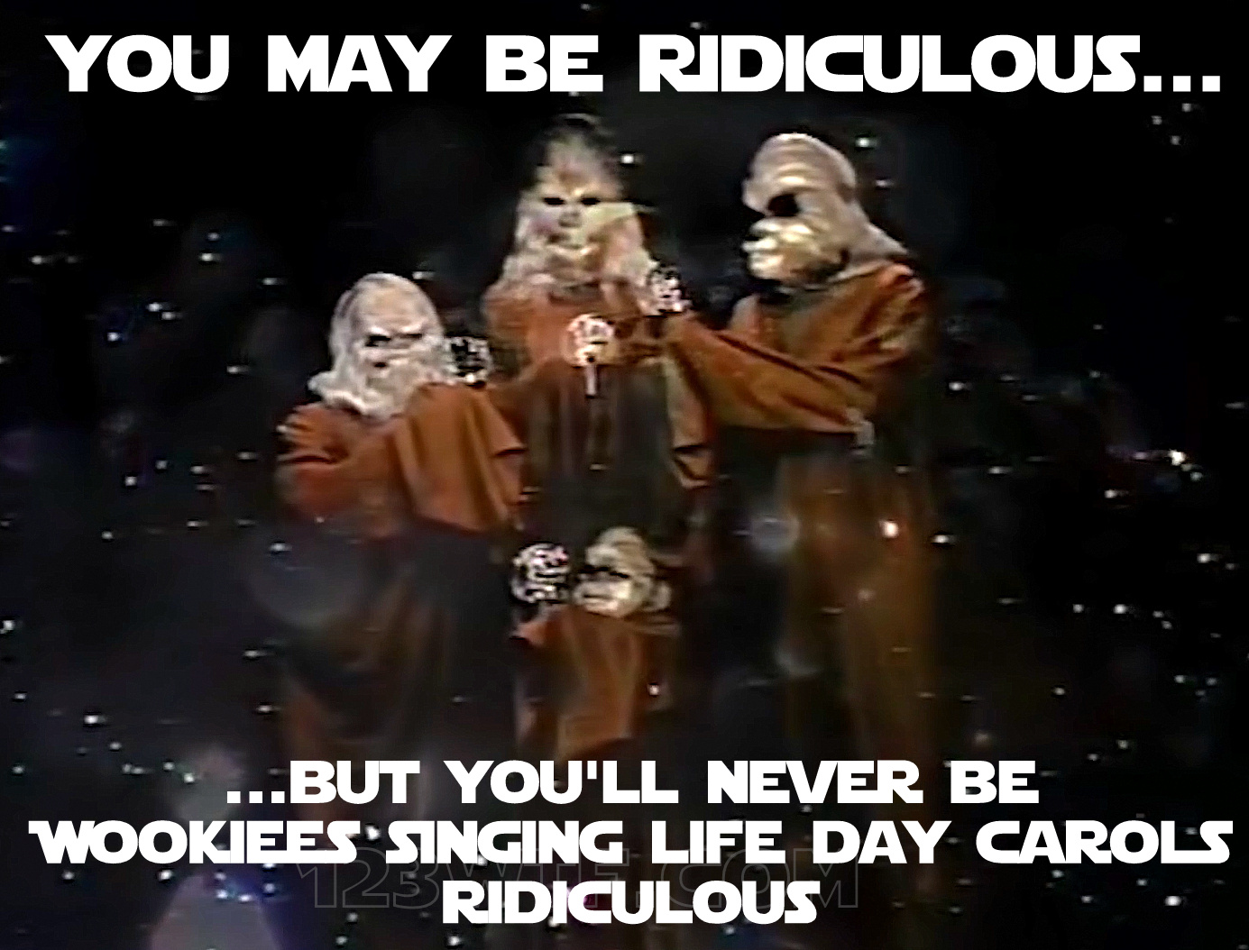star wars holiday special 31 meme ridiculous 123wtf saint pauly wtf the star wars holiday special (1978) 1,2,3 wtf!? (watch the