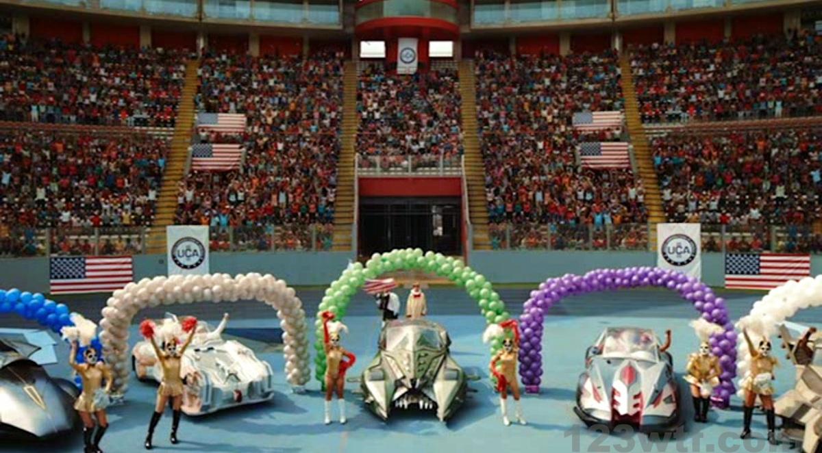 Death Race 2050 12 SC Looks like Wacky Races 123wtf Saint Pauly