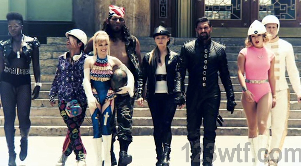 Death Race 2050 25 SC Not just bad asses, they're the worst asses 123wtf Saint Pauly