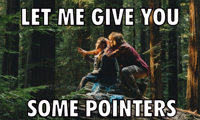 Swiss Army Man 37 meme Give you some pointers 123wtf Saint