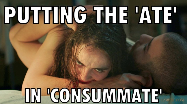 Raw 40 Meme Putting the 'ate' in 'consummate' 123WTF Saint Pauly
