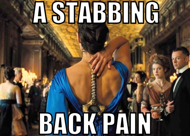 Wonder Woman 101 meme Stabbing back pain 123WTF Saint Pauly