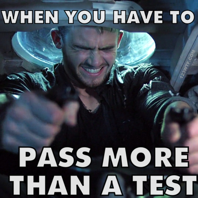 Empire of the Sharks 42 Meme Pass more than a test 123WTF Saint Pauly