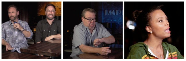 Poop Talk 06 Sklar bothers, Aisha Tyler, Eric Stonestreet Watch The Film Saint Pauly 123WTF