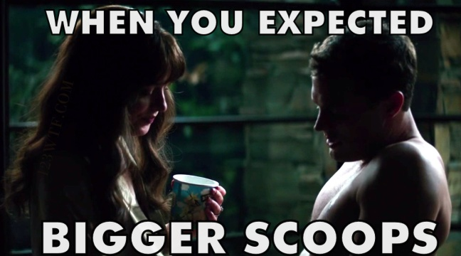 Fifty Shades Freed 30 Meme Bigger scoops Watch The Film 123wtf Saint Pauly