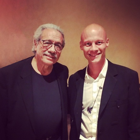 Tómas Lemarquis 21 Tómas with Edward James Olmos Blade Runner 2049 123WTF Watch The Film Saint Pauly