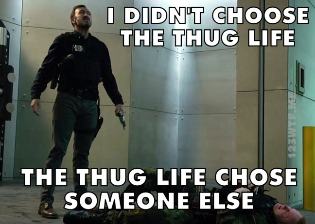 Hurricane Heist 15 Meme The thug life chose someone else Watch The Film 123WTF Saint Pauly
