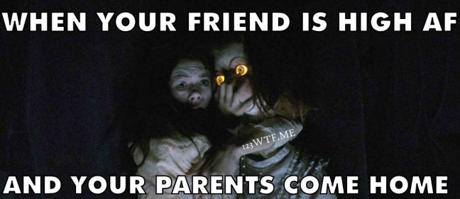 Ghostland 34 meme When your friend is as high af Watch The Film 123WTF Saint Pauly