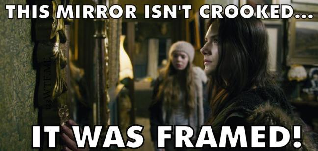 Ghostland 42 meme This mirror isn't crooked, it was framed Watch The Film 123WTF Saint Pauly
